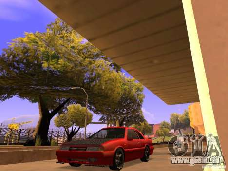 Previon GT pour GTA San Andreas sur la vue arrière gauche