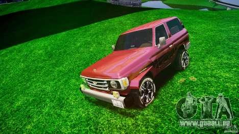 Toyota Land Cruiser 4.5 V2 pour GTA 4