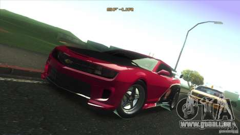 Chevrolet Camaro SS Dr Pepper Edition für GTA San Andreas Motor