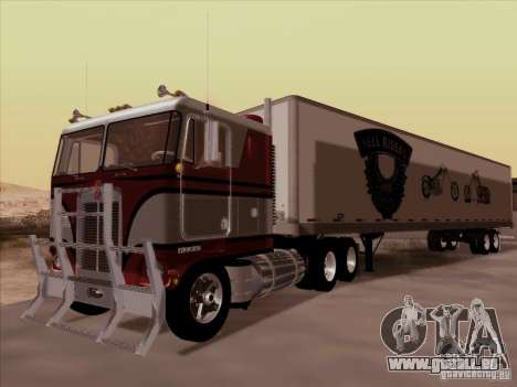 Kenworth K100 pour GTA San Andreas vue de droite