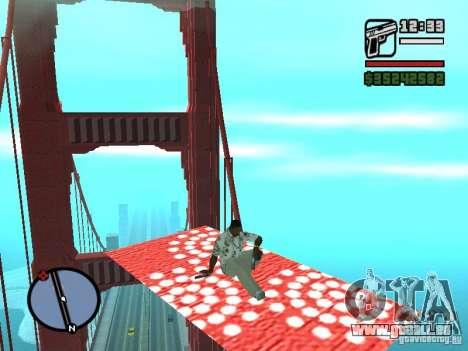 Fliegender Teppich für GTA San Andreas fünften Screenshot