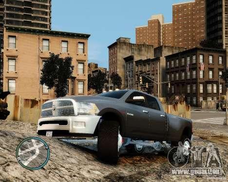 Dodge Ram 3500 Stock pour GTA 4 est une gauche