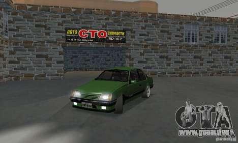 Chevrolet Monza SLE 2.0 1988 für GTA San Andreas