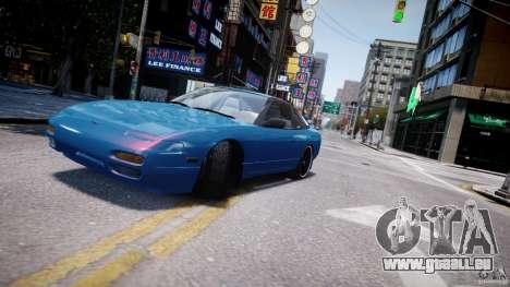 Nissan 240sx v1.0 pour GTA 4 vue de dessus