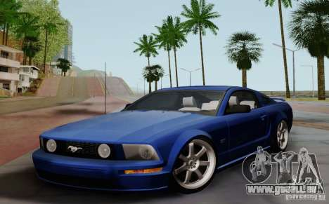 Ford Mustang Twin Turbo pour GTA San Andreas