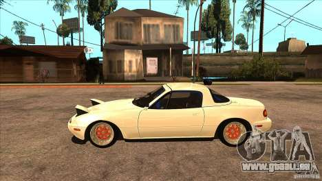 Mazda Miata JDM pour GTA San Andreas laissé vue