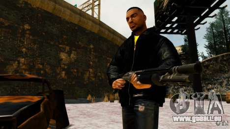 Marshall de Crysis 2 pour GTA 4 septième écran