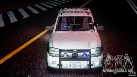 Chevrolet Trailblazer Police V1.5PD [ELS] für GTA 4 obere Ansicht