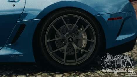 Ferrari 599 GTO 2011 pour GTA 4 est un côté