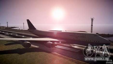 Air Force One v1.0 für GTA 4 rechte Ansicht