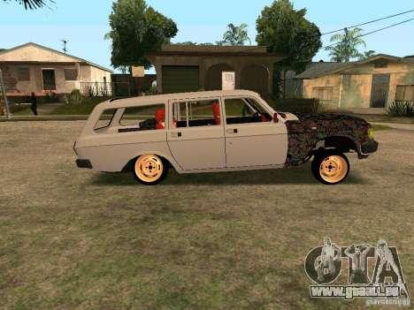 GAZ Volga 310221 pour GTA San Andreas vue arrière