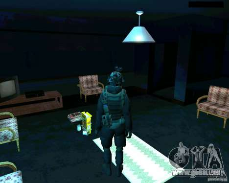 Soldaten aus der CoD MW 2 für GTA San Andreas dritten Screenshot