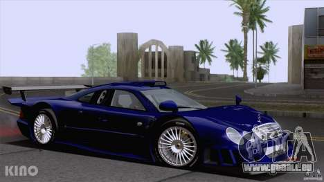 Mercedes-Benz CLK GTR Road Carbon Spoiler pour GTA San Andreas