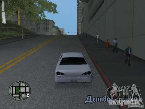 Elegy HD für GTA San Andreas linke Ansicht