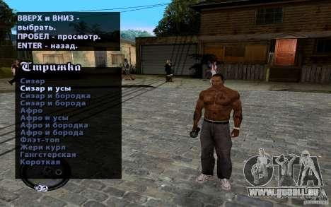 Neue CJ für GTA San Andreas achten Screenshot
