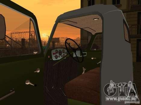 Porteur d'eau GAZ 53 pour GTA San Andreas vue arrière