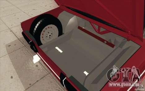VAZ 2106 Lada für GTA San Andreas Innen