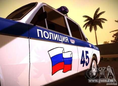 VAZ 2106 Polizei V 2.0 für GTA San Andreas rechten Ansicht