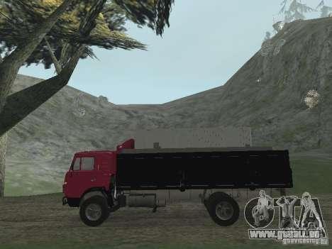 KAMAZ 5325 pour GTA San Andreas vue de droite