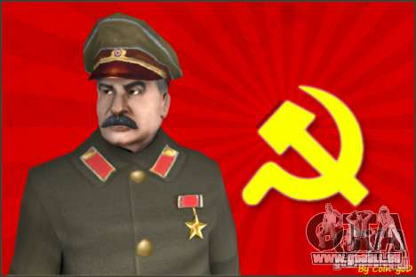 Staline pour GTA San Andreas
