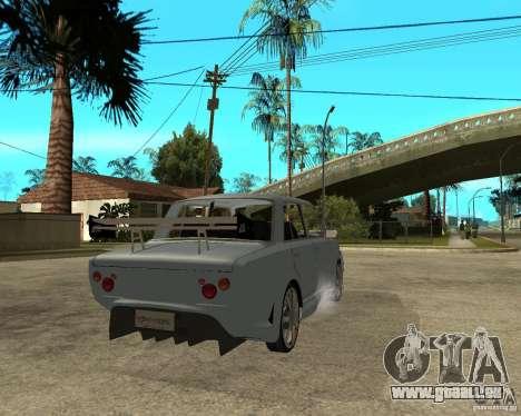 VAZ 2101 voiture TUNING par ANRI pour GTA San Andreas sur la vue arrière gauche