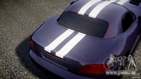 Dodge Viper RT 10 Need for Speed:Shift Tuning pour GTA 4 Vue arrière