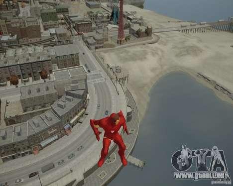 Iron Man Mk3 Suit pour GTA 4 huitième écran