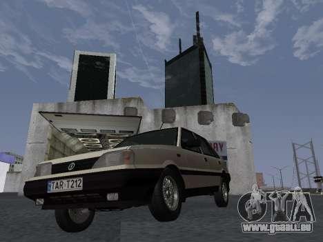 FSO Polonez Atu 1.4 GLI 16v pour GTA San Andreas vue intérieure