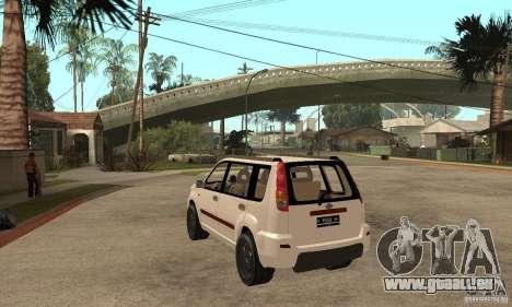 Nissan X-Trail für GTA San Andreas zurück linke Ansicht