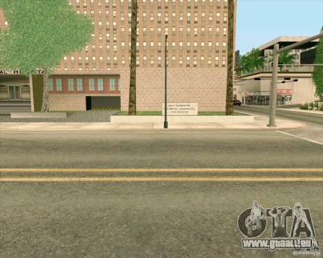 Neue Texturen aller Heiligen General Hospital für GTA San Andreas siebten Screenshot