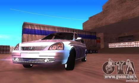 VAZ-2171 v2.0 pour GTA San Andreas laissé vue