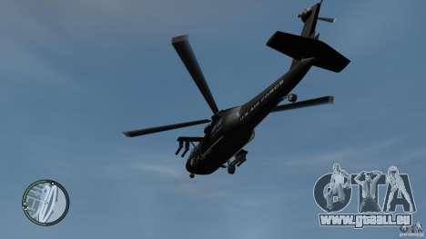U.S. Air Force (annihilator) für GTA 4 rechte Ansicht