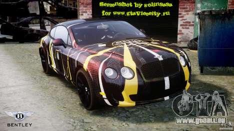 Bentley Continental SS 2010 Gumball 3000 [EPM] für GTA 4-Motor