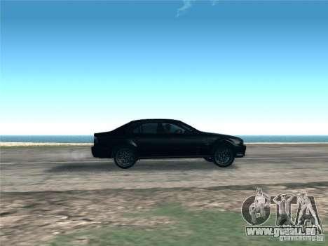 BMW M5 E39 2003 für GTA San Andreas Innenansicht