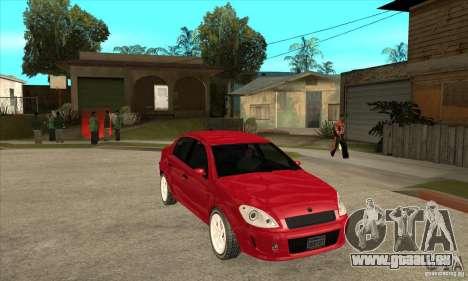 GTA IV Premier pour GTA San Andreas vue arrière