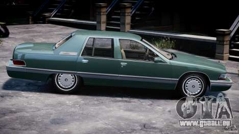 Buick Roadmaster Sedan 1996 v1.0 für GTA 4 Innen