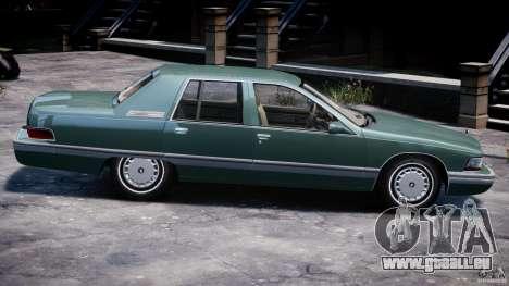 Buick Roadmaster Sedan 1996 v1.0 pour GTA 4 Salon
