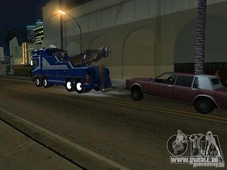 MAN F2000 (mit CLEO-Skript) für GTA San Andreas Innenansicht