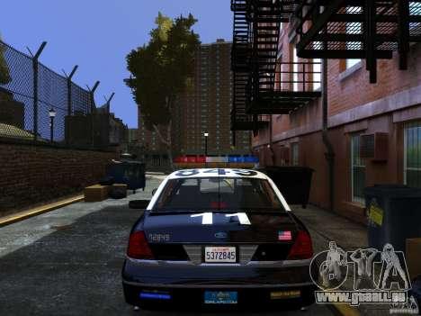 Ford Crown Victoria LAPD v1.1 [ELS] für GTA 4 linke Ansicht
