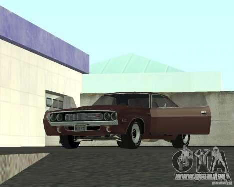 Dodge Challenger für GTA San Andreas Seitenansicht
