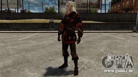 Geralt de Rivia v4 pour GTA 4 cinquième écran