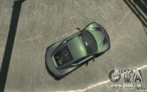 Zenvo ST1 2010 v2.0 für GTA 4 rechte Ansicht