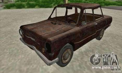 ZAZ 968 abandonné c. 2 pour GTA San Andreas laissé vue