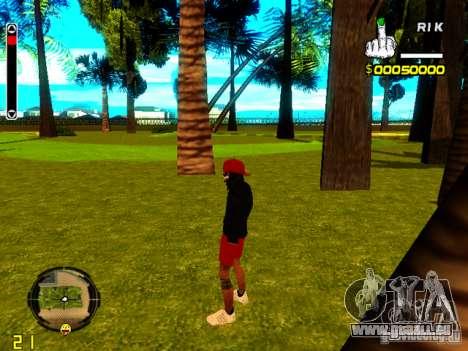 Haut-Penner-v1 für GTA San Andreas dritten Screenshot