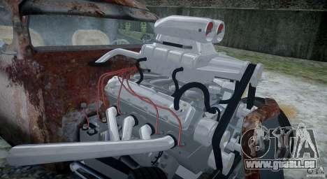 Ford RatRoad 1936 für GTA 4 Innenansicht