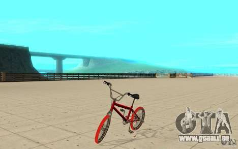 Zeros BMX RED tires für GTA San Andreas