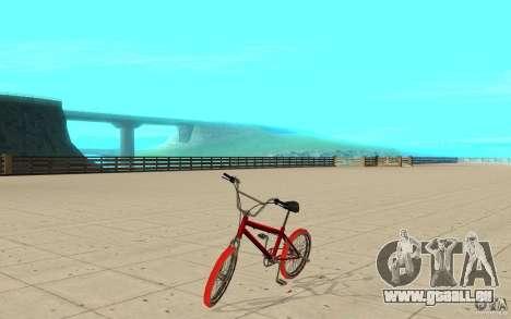 Zeros BMX RED tires pour GTA San Andreas