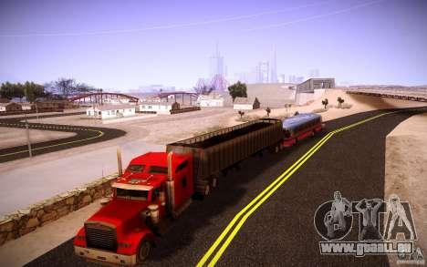 Kenworth W 900L für GTA San Andreas obere Ansicht