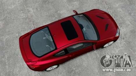 Hyundai Genesis Coupe 2013 pour GTA 4 est un droit