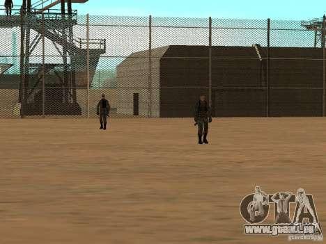 Quartier animé de 69 pour GTA San Andreas troisième écran